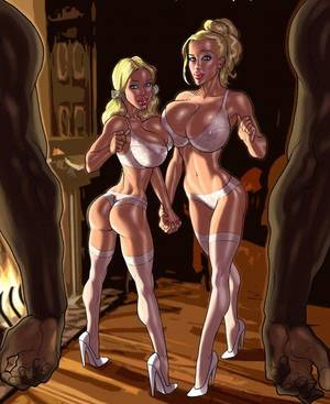 blondie interracial sex cartoons - Xxx interracial cartoon porn pics of white girl wanna - Picture 4