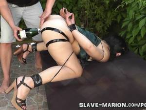 Bondage Sex Slave Porn - Real sex slave bondaged, punished and gangbanged