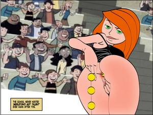 Anal Cartoons - Kim Possible Anal Beads