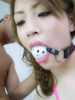 Chinese Gagging Porn - Yuu Mahiru Asian is fucked with cocks in asshole and cunt at once -  JapanFuckPics.com