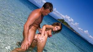 caribbean private beach sex video - Private HD porn video: Lauren Has Hardcore Anal Sex on a Beautiful Tropical  Beach