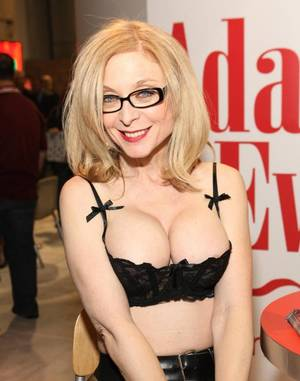Black Porn Stars 1980s - Adult film actress Nina Hartley attends the 2009 AVN Adult Entertainment  Expo at the Sands Expo