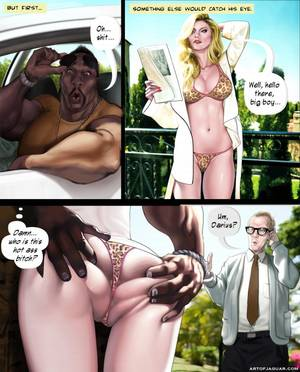 blondie interracial sex cartoons - More than 1500 pics of interracial sex by Art of Jaguar
