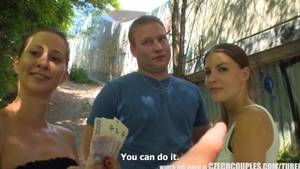 money group sex - CZECH COUPLES Young Couple Tak
