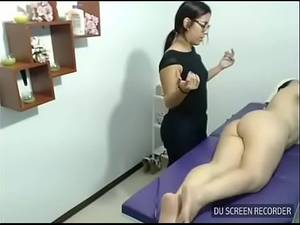 Hidden Cam Parlor Massage -