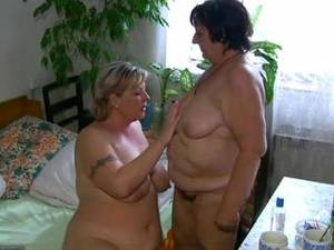 chubby fat bdsm - OldNanny Chubby fat granny and fat mature suck dick and lick pussy