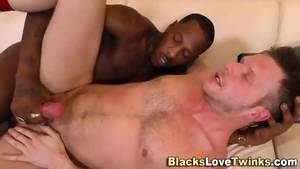 60 Fps Gay Porn - Ebony Hunk Cums In Mouth