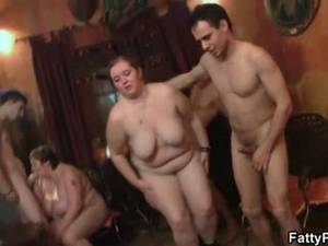 chubby fat bdsm - Fat bitch spreads her legs for hard rod