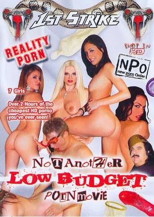 Moviebox Porn - Not Another Low Budget Porn Movie Box Cover