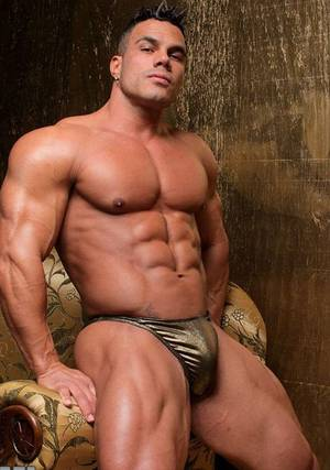 Leather Muscle Porn - Porn muscle man
