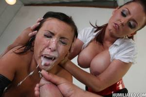 Forced To Eat Cum - Forced facial cumshots ...