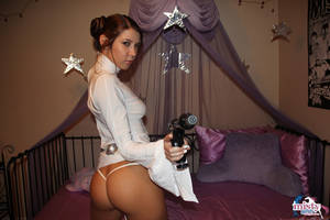 3d Star Wars Leia Porn - Princess Leia Porn savoury Misty Gates Star Wars cosplay May The 4th With  With You as