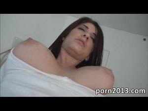 her first anal sex brunette -