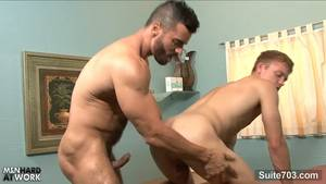 doctor fuck - Gay doctor fuck his patient at work