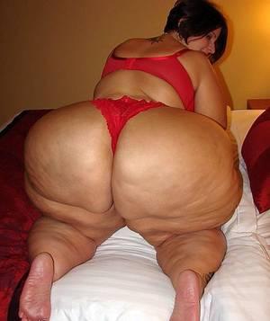 Naked fat ass