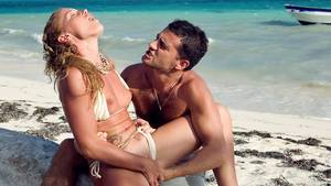caribbean private beach sex video - Private HD porn video: This Couple Relaxes on the Tropical Beach and Has  Oral Sex
