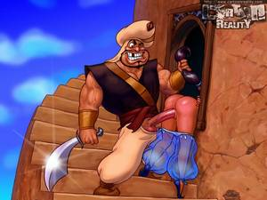 Cartoon Monkey Porn - Princess jasmine gets fucked by monkey with banana and lucky guard with big  dick - CartoonTube.XXX