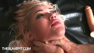 Blonde Bondage Porn - Live HD BDSM videos slave bitches sluts choked fucked insertion nipples
