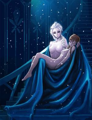 Frozen Lesbian Porn Slave - anna (frozen) blue eyes braid breasts brown hair carrying closed eyes  disney elsa (frozen) female female only frozen (movie) human kimbbq long  hair ...