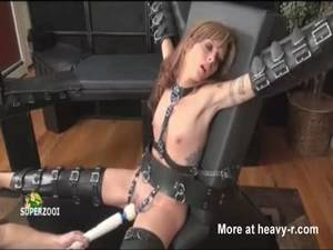 Forced Bondage And Dildo Porn - Female Slave Forced To Orgasm