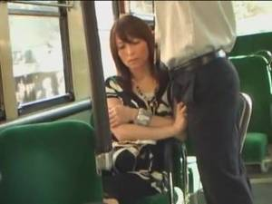 Japanese Bus Porn Tight Dress - Rub Penis On Woman On Bus4 ...