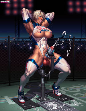 dmitrys shemale cartoons - Muscular tranny enjoys her new fucking mach - XXX Dessert - Picture 5