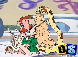 Cartoon Monkey Porn - Naughty Cartoon Babe Enjoys Fucking By a Monkey