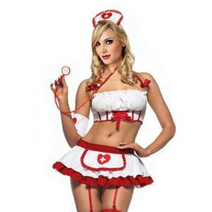 Costume Porn - 2016 Women Sexy Nurse Costume Erotic Lingerie Role Play Sexy Nurse Uniform  Set Porn Erotic Sexy Lingerie G-string Skirt 35 High Quality Lingerie Imp  China ...