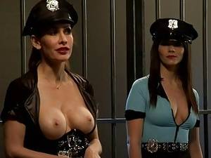 Jail Cell Porn - Two hot bitches foursome in the jailcell