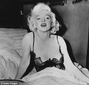 Marilyn Monroe Porn Video - The real deal: Marilyn Monroe experts say there's no way the woman in  alleged sex