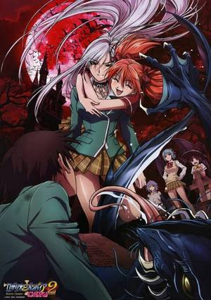 Moka And Tsukune Porn - This show is boarderline Porn