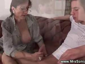 chubby fat swingers - Cuckolds wife tugs younger cock · Swinger ...