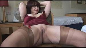 chubby mature striptease - Big tits mature panty play and striptease