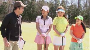 Golf Asian Brunette Porn -