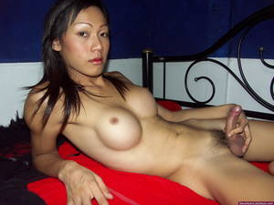 asian huge cum load - Busty shemale Nancy plays with her boner until shooting a huge load of cum