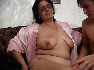 fat ass saggy tits - Mom With Wide Ass, Saggy Tits, Hairy Cunt & Guy