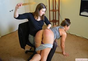 fresh spanked ass - Spanked by Clare Fonda