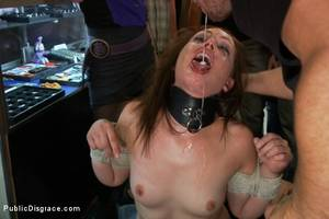 Bdsm Piss Porn - Photo number 2 from Made to Piss in Public shot for Public Disgrace on Kink.