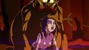 Anime Monster Porn Anal - Cute Anime Ghostbuster Babe Monster Fucked in All Her Holes