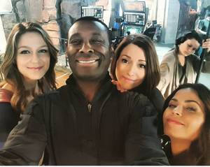 Chyler Leigh Supergirl Porn - David Harewood, Chyler Leigh, Angel S, Supergirl, Arrow, Queen, Tv,  Instagram, Cw Crossover