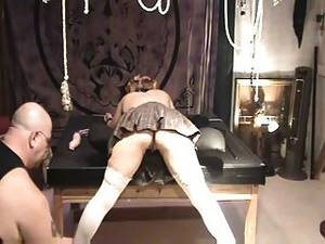 ass caning - Horny Slut Gets Her Ass Flogged And Caned