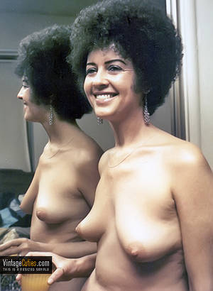 70s boobs movies - ... Cheerful babe with a retro hair and small perky tits vintage ...