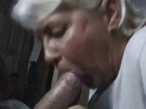 Cock Sucking Cum In Mouth - Wife sucking cock and cum in mouth