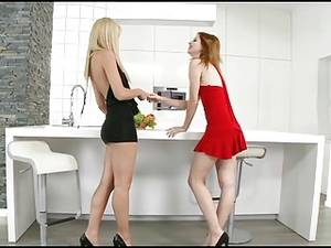 Lesbian Milf Piss - You're not peeling that for me? ...