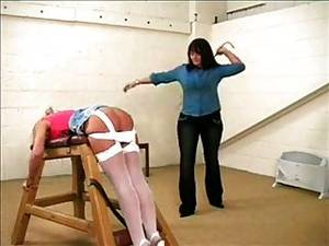 ass caning - Female Hard Bare Ass Caning