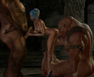 Elf Monster Porn - picture 1 : Fantasy porn action with a lot of elf girls ...