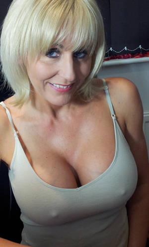 Blonde Mature Short Hair - 62 a milf,mom,wife,mature,granny,blonde,short hair,big tits,cleavage,erect  nipples image uploaded by user: Grannymommilf at fantasti.cc community porn  ...