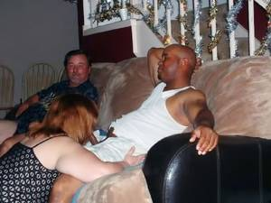 Husband Watches Interracial Porn - ... Cuckold husband watches his wife
