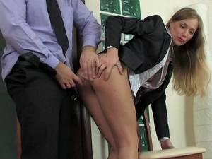 beautiful secretary fucking -