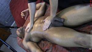 Big Cock Cum Massage - Click here to watch this full length straight black man with a big black  cock getting serviced by a white man gay porn video and hundreds more  amateur gay ...
